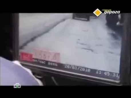 """фиксация скорости транспортного средства с помощью прибора """"Визир"""""""